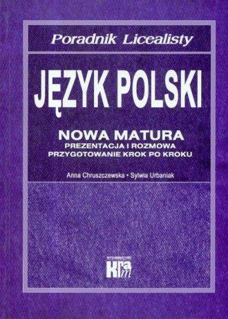 Język polski. Nowa matura. Poradnik - okładka podręcznika