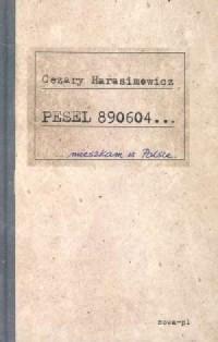 Pesel 890604 - okładka książki