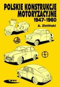 Polskie konstrukcje motoryzacyjne - okładka książki