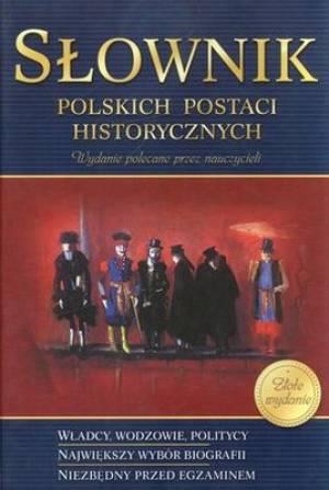 Słownik polskich postaci historycznych. - okładka książki