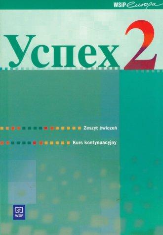 Uspiech 2. Kurs kontynuacyjny języka - okładka podręcznika