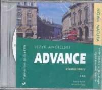 Advance elementary. Język angielski (+ CD) - okładka podręcznika