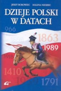 Dzieje Polski w datach - okładka książki