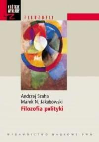 Filozofia polityki - okładka książki