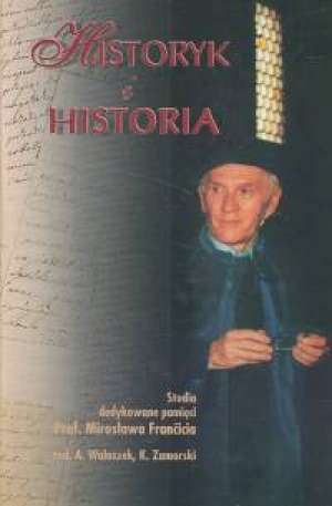 Historyk i historia - okładka książki