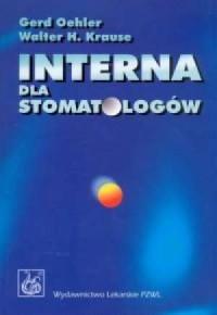 Interna dla stomatologów - okładka książki