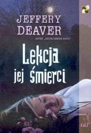 Lekcja jej śmierci - okładka książki