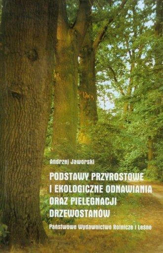 Podstawy przyrostowe i ekologiczne - okładka książki