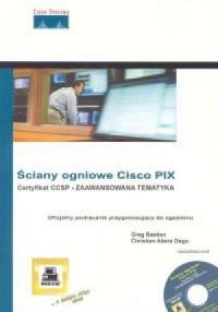 Ściany ogniowe Cisco PIX - okładka książki