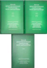 Słownik gniazd słowotwórczych. Tom 3-4 - okładka książki
