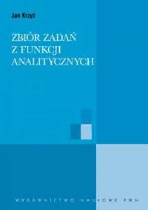 Zbiór zadań z funkcji analitycznych - okładka książki
