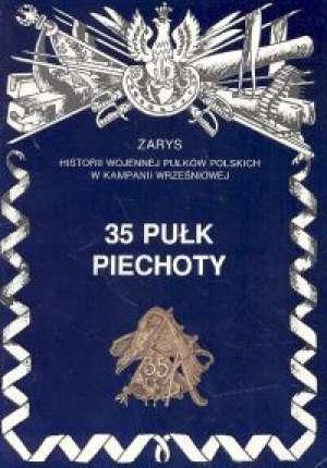 35 pułk piechoty - okładka książki