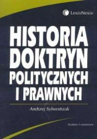 Historia doktryn politycznych i prawnych - okładka książki