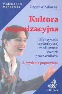 Kultura organizacyjna - okładka książki