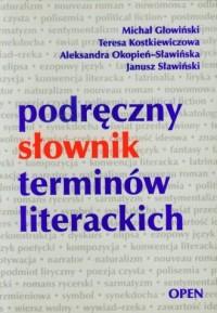 Podręczny słownik terminów literackich - okładka książki