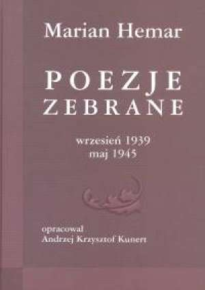Poezje zebrane. Wrzesień 1939 - - okładka książki