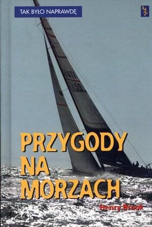 Przygody na morzach - okładka książki
