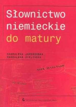 Słownictwo niemieckie do matury - okładka podręcznika