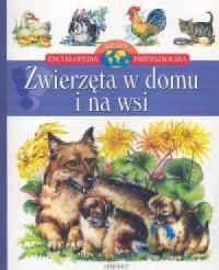 Zwierzęta w domu i na wsi - okładka książki