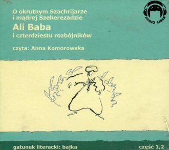 Ali Baba i 40 rozbójników (CD) - pudełko audiobooku