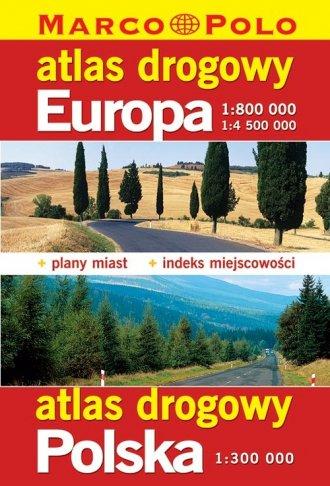 Atlas drogowy. Europa (w skali - zdjęcie reprintu, mapy