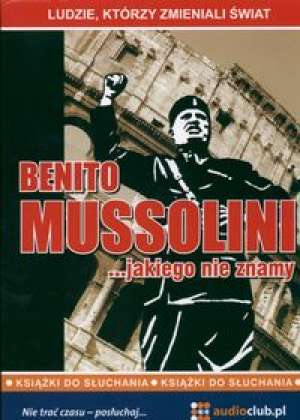 Benito Mussolini... jakiego nie - pudełko audiobooku