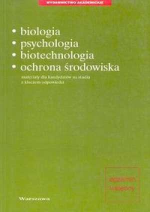 Biologia, psychologia, biotechnologia, - okładka książki