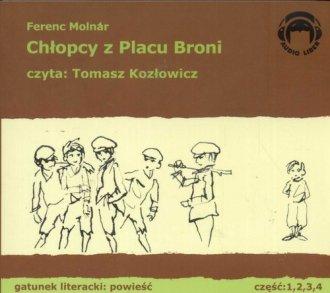 Chłopcy z Placu Broni (4 CD) - pudełko audiobooku