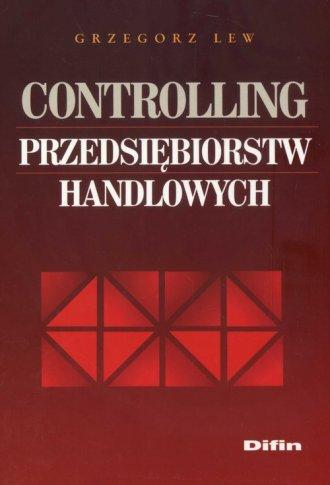 Controling przedsiębiorstw handlowych - okładka książki