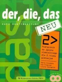 Der, die, das. Neu. Język niemiecki. - okładka podręcznika