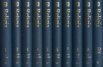 Encyklopedia Religii. Tom 1-9 + - okładka książki