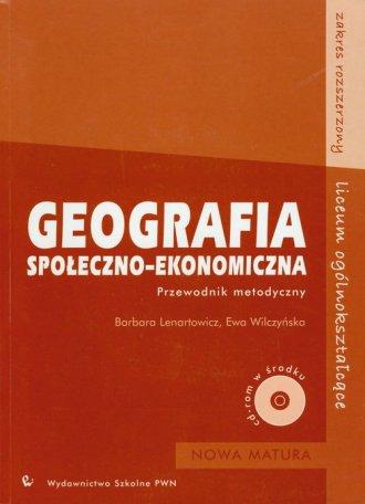 Geografia społeczno-ekonomiczna. - okładka podręcznika