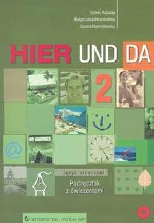 Hier und da 2. Język niemiecki. - okładka podręcznika