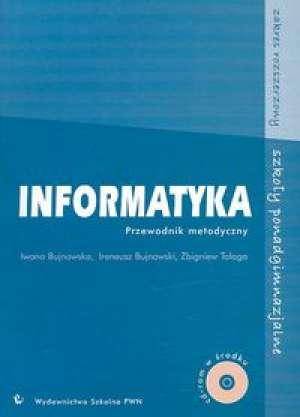 Informatyka. Przewodnik metodyczny - okładka książki