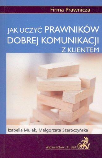 Jak uczyć prawników dobrej komunikacji - okładka książki