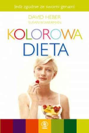 Kolorowa dieta - okładka książki