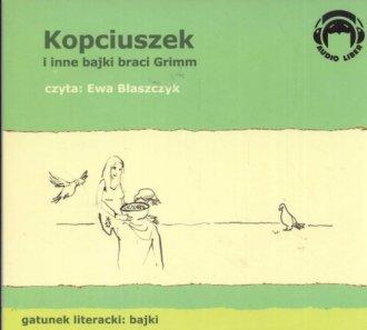 Kopciuszek i inne bajki Braci Grimm - pudełko audiobooku