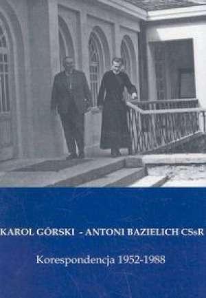 Korespondencja 1952-1988 - okładka książki