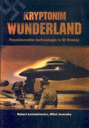 Kryptonim Wunderland. Pozaziemskie - okładka książki