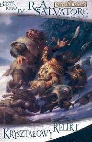 Legenda Drizzta. Księga IV. Kryształowy - okładka książki