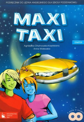 Maxi Taxi. Starter. Klasa 4-6. - okładka podręcznika