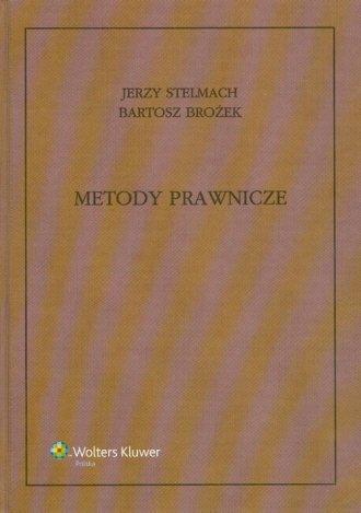 Metody prawnicze - okładka książki