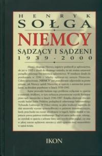 Niemcy sądzący i sądzeni 1939-2000 - okładka książki