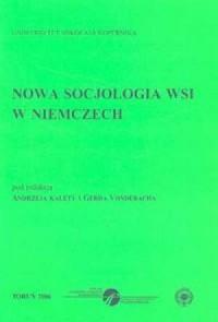 Nowa socjologia wsi w Niemczech - okładka książki