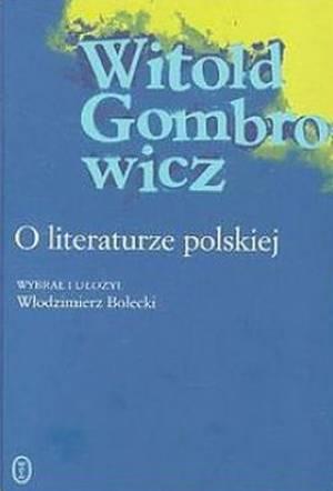 O literaturze polskiej - okładka książki