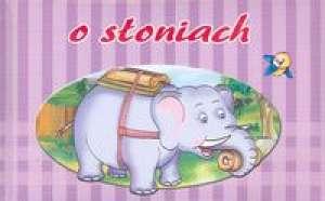 O słoniach - okładka książki