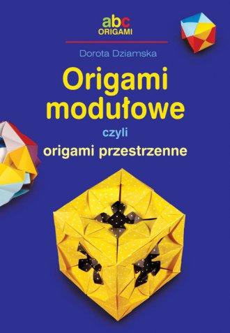 Origami modułowe czyli origami - okładka książki