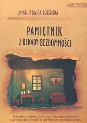 Pamiętnik z dekady bezdomności - okładka książki