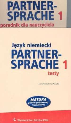 Partnersprache 1. Język niemiecki. - okładka książki