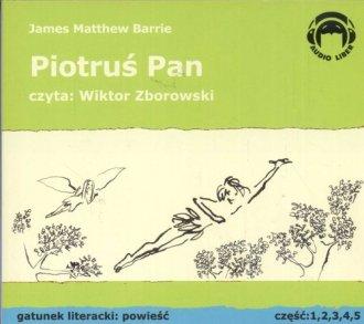 Piotruś Pan (5 CD) - pudełko audiobooku